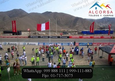Banderas Tipo Vela Alcorsa Perú