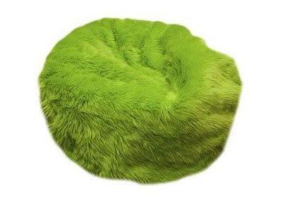 Puff Peluche Verde