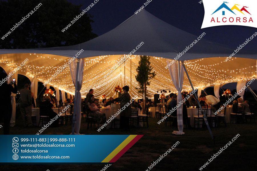 Toldos para fiestas y eventos en lima Toldos Alcorsa